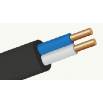 Провод  ВВГп нг 2х1,5 Премиум кабель